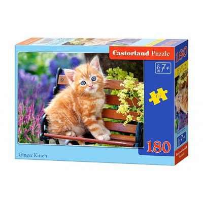 Puzzle  Castorland-018178 Rotes Kätzchen