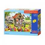 Puzzle  Castorland-018307 Birdhouse