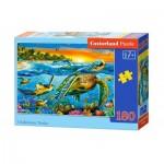 Puzzle  Castorland-018321 Underwater Turtles