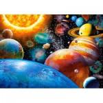 Puzzle  Castorland-018345 Planeten und Monde