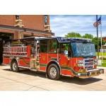 Puzzle  Castorland-018352 Feuerwehrauto