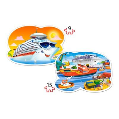 Puzzle Castorland-020102 XXL Teile - Sea Adventures