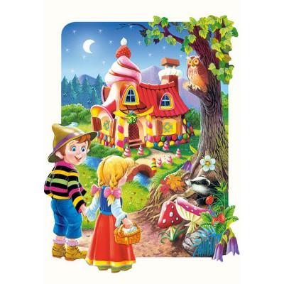 Puzzle  Castorland-02153 Hänsel und Gretel