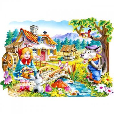 Puzzle  Castorland-02160 Rotkäppchen