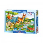 Castorland-02177 Puzzle 20 Teile Maxi: Rehkitz