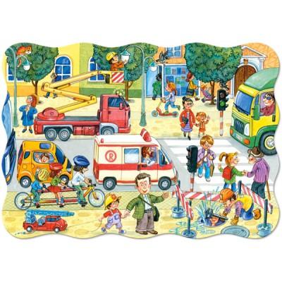 Puzzle  Castorland-02238 Tägliches Leben