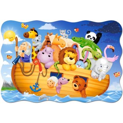 Castorland-02245 Extragroße Puzzleteile - Arche Noah