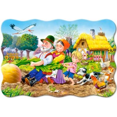 Castorland-02283 Minipuzzle - Die Rübe