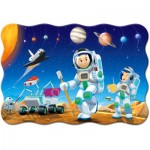 Puzzle  Castorland-02344 XXL Teile - Weltraumeroberung