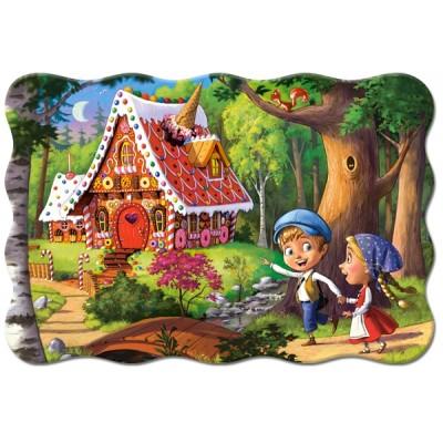 Puzzle Castorland-02368 XXL Teile - Hansel und Gretel