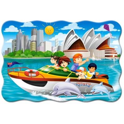 Puzzle  Castorland-02375 XXL Teile - Sydney