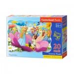 Puzzle  Castorland-02382 XXL Teile - Däumeline