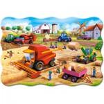 Puzzle  Castorland-02436 XXL Teile - Farmarbeit