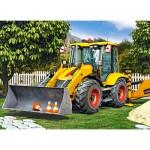 Puzzle  Castorland-030064 Bulldozer