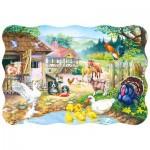 Puzzle  Castorland-03310 Der Bauernhof