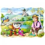 Puzzle  Castorland-03334 Der gestiefelte Kater