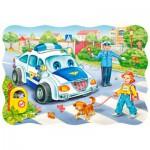 Puzzle  Castorland-03389 Der Schulweg