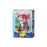 Puzzle  Castorland-03426 Regentag