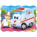 Puzzle  Castorland-03471 Der Notarzt
