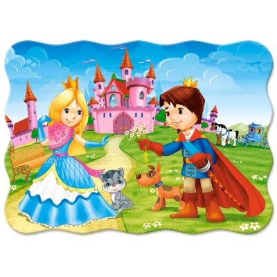 Puzzle  Castorland-03518 The Princess Couple