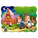 Puzzle  Castorland-03532 Hansel und Gretel