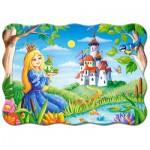 Puzzle  Castorland-03679 Die Prinzessin und der Frosch