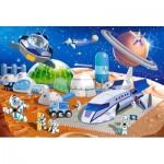 Puzzle  Castorland-040230 XXL Teile - Space Station
