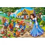 Puzzle  Castorland-040247 XXL Teile - Schneewittchen