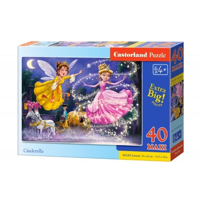 Puzzle  Castorland-040278 XXL Teile - Aschenputtel