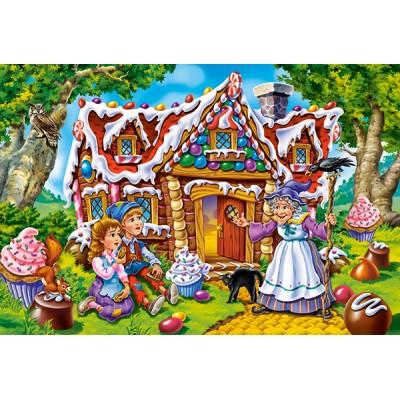 Puzzle Castorland-040285 XXL Teile - Hansel & Gretel