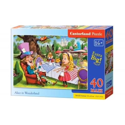 Puzzle  Castorland-040292 XXL Teile - Alice in Alice im Wunderland