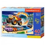 Puzzle  Castorland-040308 XXL Teile - Jumping Monster Truck