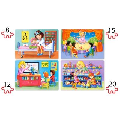 Puzzle Castorland-041022 XXL Teile - I Like my Job