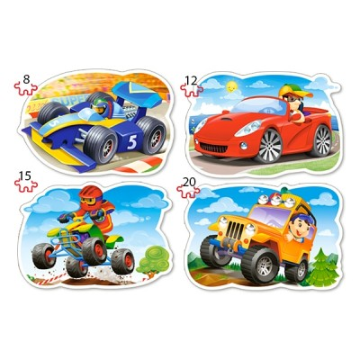 Puzzle  Castorland-043057 XXL Teile - Ride for Fun