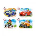 Puzzle  Castorland-043057 XXL Teile - Ride for Fun