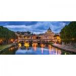 Puzzle  Castorland-060054 View of St Peter's Basilica, Vatican
