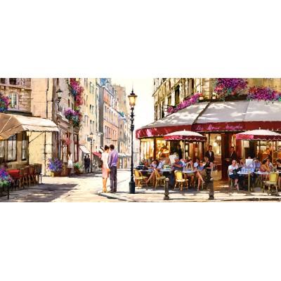 Puzzle Castorland-060085 Richard Macneil: Lovers in Paris