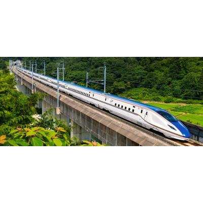 Puzzle  Castorland-060146 The Fast Train