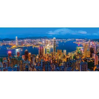 Puzzle  Castorland-060290 Hong Kong Twilight