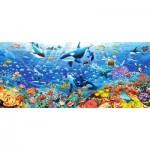 Puzzle  Castorland-060375 Unterwasserwelt