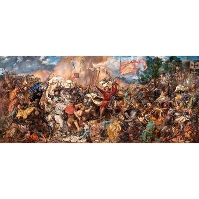 Puzzle Castorland-060382 Jan Matejko - Schlacht bei Tannenberg