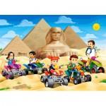 Puzzle  Castorland-066018 Ägypten