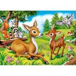 Puzzle  Castorland-066049 Dear Little Deer