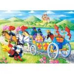 Puzzle  Castorland-066070 Der gestiefelte Kater