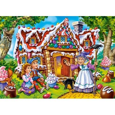 Puzzle  Castorland-066094 Hansel & Gretel