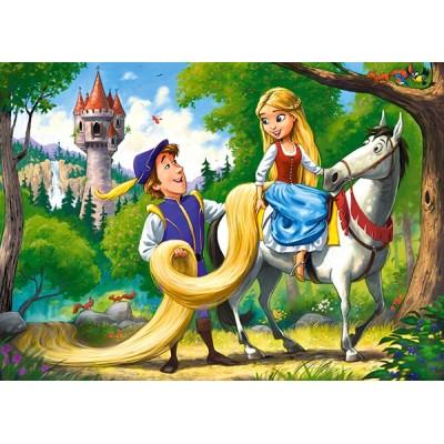 Puzzle  Castorland-066124 Rapunzel