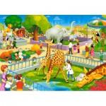 Puzzle  Castorland-066155 Zoo