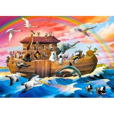 Puzzle  Castorland-066186 Noahs Arche