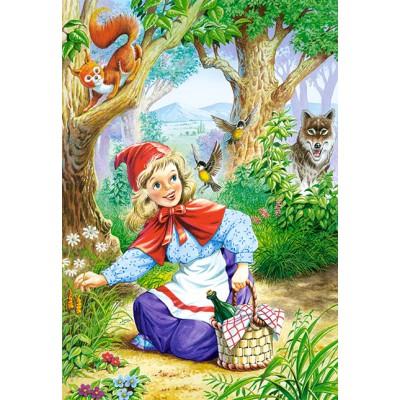 Puzzle  Castorland-06625 Rotkäppchen