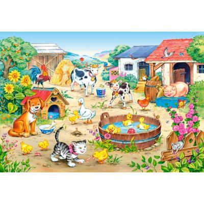 Puzzle  Castorland-06663 Der Bauernhof